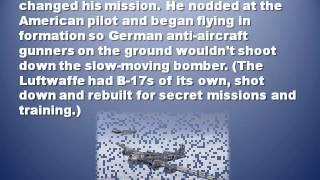Charlie Brown B-17 Pilot Meets Luftwaffe Pilot & Ace Franz Stigler