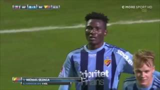 Michael Olunga ● The Engineer ● All 12 Goals in 12 games For Djurgården● 2016 HD