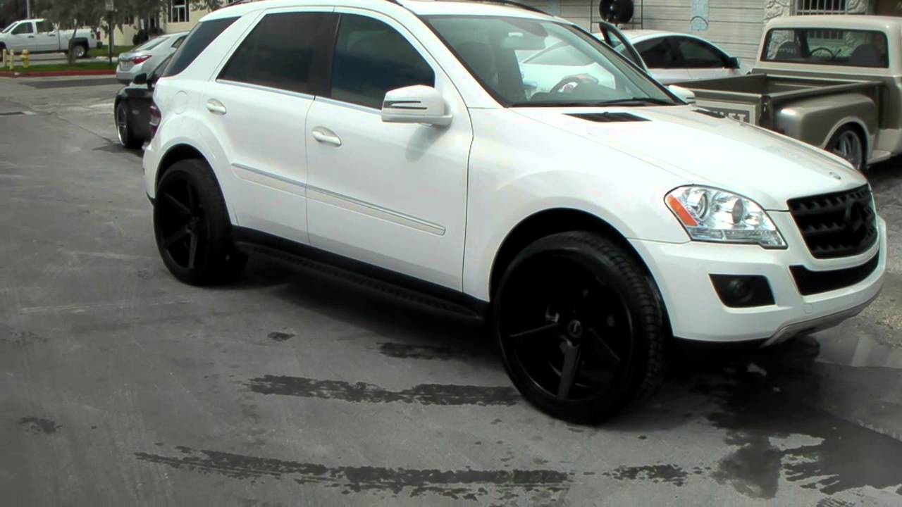 22 inch kmc km 685 district black wheels for Mercedes benz ml350 rims