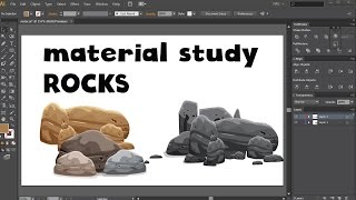 Creating Rocks for Your Mobile Game Art with Adobe illustrator CS6 [Free Course Lecture]