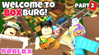 ROBLOX | Welcome to BOXburg! (Part 2) EPIC Collab w/ iKotori & AntarcticAnnie | Bloxburg speedbuild
