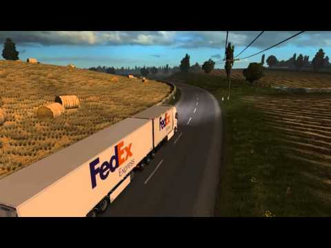 Fedex Express Delivery Cambridge to Paris Volvo FH 2012 Tand