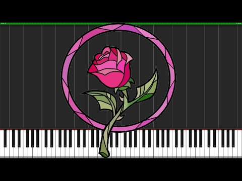 Prologue - Beauty and the Beast [Piano Tutorial] (Synthesia) // Nadav Schneider
