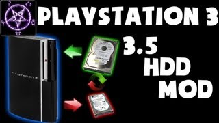 PlayStation 3 (PS3) - External 3.5 HDD Mod Concept (1080p)