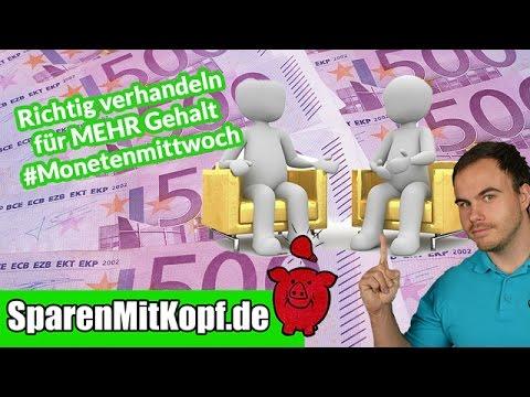 Mehr Gehalt für Arbeitnehmer - Tipps für erfolgreiche Verhandlungen #Monetenmittwoch