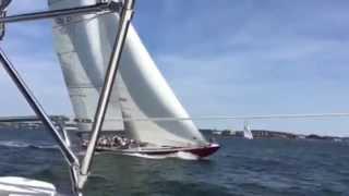 12 Meter Yacht American Eagle
