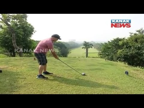 Hockey World Cup-2018: Holland Hockey Players Playing Golf In Bhubaneswar