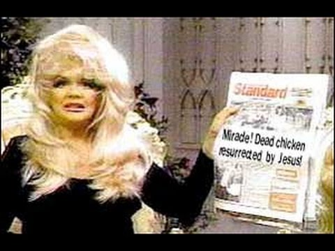Humor . Jan Crouch's Chicken Story . LOL RIP