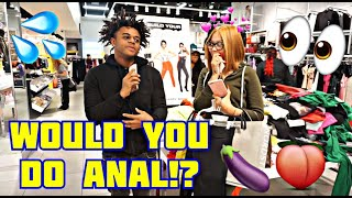 WOULD YOU DO ANAL!?🍆🍑👀| Public Interview | Mk3maxwell