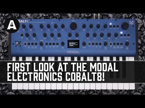 Modal Electronics Cobalt8 - A New Era of Extended Virtual-Analogue Synths!