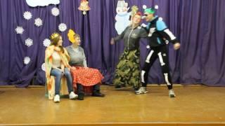 Выступление в Новый год 11 класс