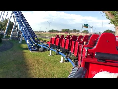 Texas Tornado Coaster - Wonderland Amusement Park - Amarillo, Texas, USA