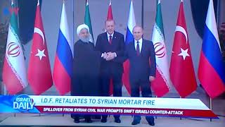 Israel News...Be Careful of Russia...April 24th 2018 4:09 pm