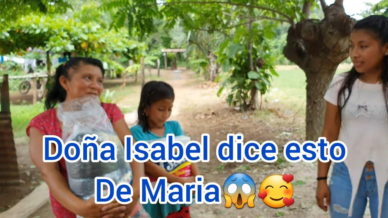 Miguel ¡le entregamos esta ayuda a doña Isabel y nos cuenta que Maria tiene novio!😱