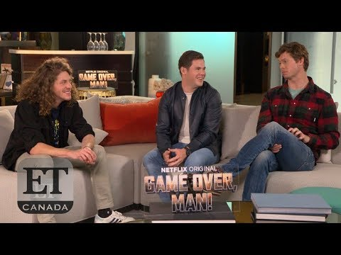 Download Youtube: 'Game Over, Man!' Interview With Adam Devine, Blake Anderson, Anders Holm