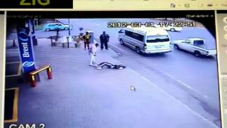 Brutal Road Rage Caught on CCTV in South Africa