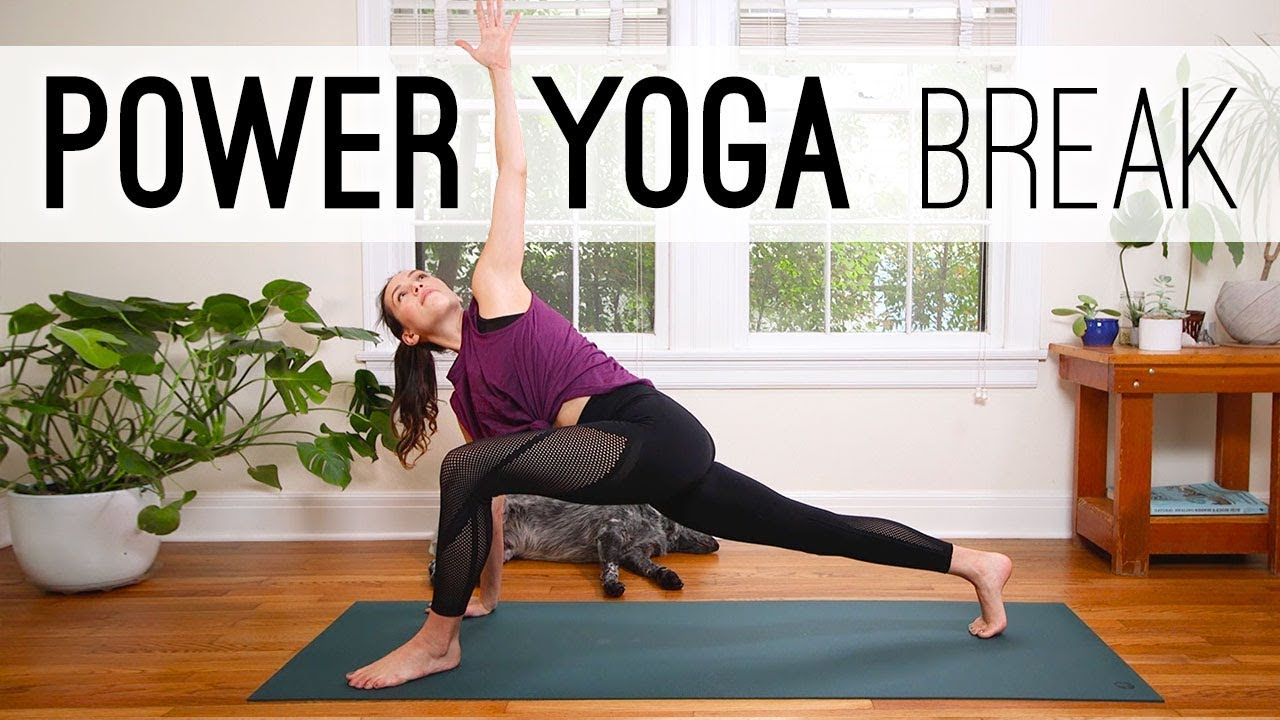 Power Yoga Break Yoga For Weight Loss Yoga With Adriene Youtube