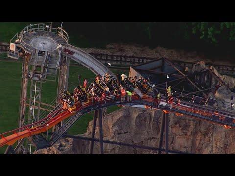 MORNING NEWS - VIDEO!  Roller Coaster Rescue