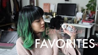 FAVORITES: End of the Year Favs.