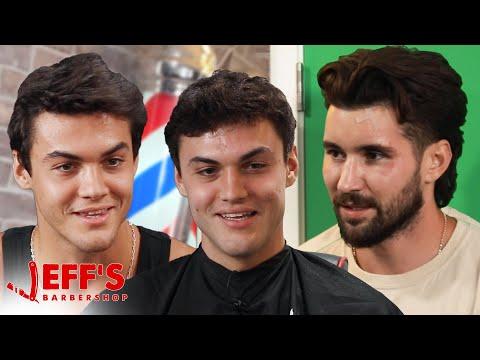 WE SECRETLY FILMED THE DOLAN TWINS   Jeff's Barbershop