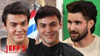 WE SECRETLY FILMED THE DOLAN TWINS | Jeff's Barbershop