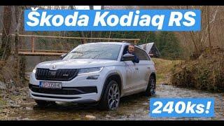 Može li Škoda pobijediti Audi? - Kodiaq RS - testirao Juraj Šebalj