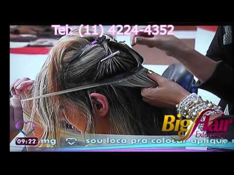 Big Hair Extension-  Luciana Oliveira na Ana Maria Braga