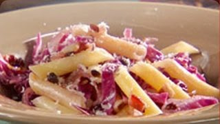 Penne With Cabbage, Bacon, And Currant Sauce - Mad Hungry With Lucinda Scala Quinn