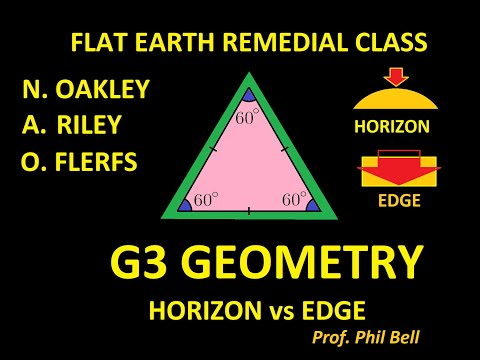 FLAT EARTH REMEDIAL GEOMETRY CLASS FOR NATHAN OAKLEY AND SLEEPING WARRIOR AKA MR. REILY. thumbnail