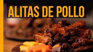 Alitas con Salsa Búfalo & Mango Habanero | Munchies Lab
