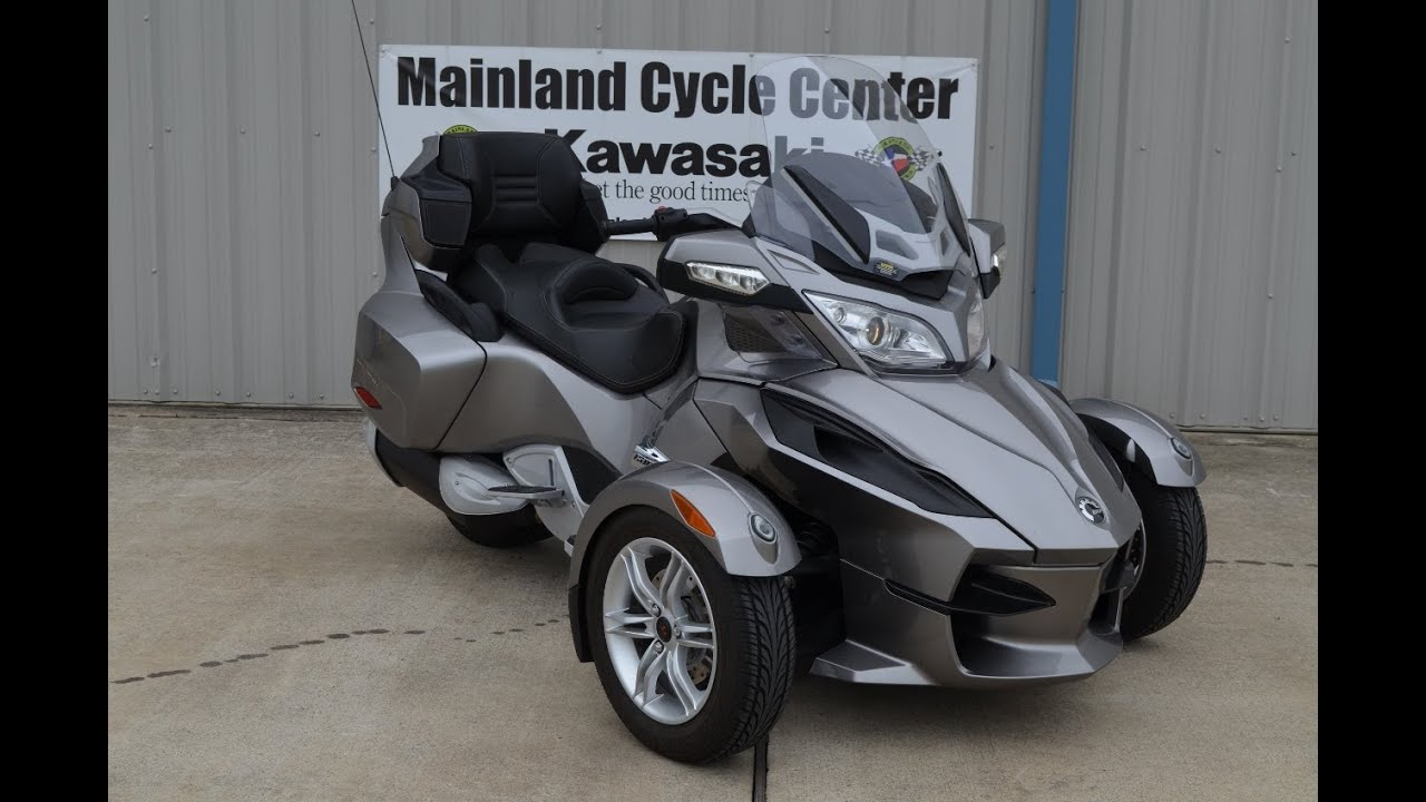 2012 Can Am Spyder Rt Youtube