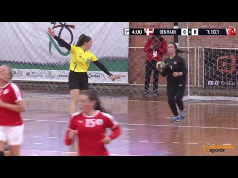 DENMARK X TURKEY | FINAL | WOMEN'S WORLD DEAF HANDBALL CHAMPIONSHIPS 2018