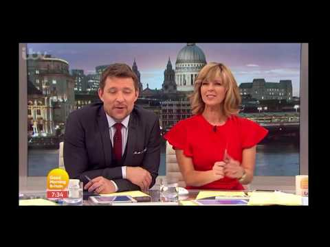 Good Morning Britain hosts receive their MyHeritage DNA results live on air