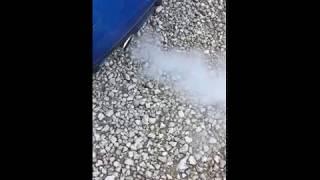 fumée à froid