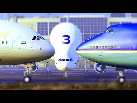 GTA 5 - AIRFORCE ONE TRIFFT AUF AIRBUS A380