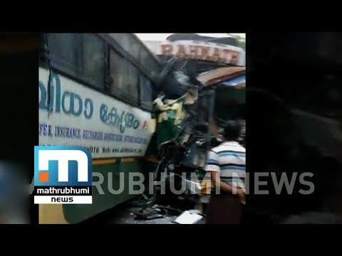 Accident At Kottiyam, Kollam: One Person Dies   Mathrubhumi News