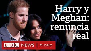 ¿Qué cambia para Harry y Meghan al apartarse de sus funciones en la realeza británica?   BBC Mundo