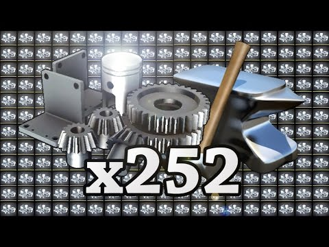 TF2: Crafting 252 Refined Metal into Hats! (ft. Spikey Mikey)