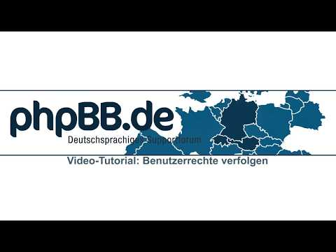 phpBB: Benutzerrechte verfolgen