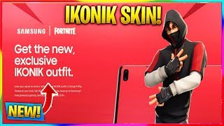 * NEW * HOW TO GET THE EXCLUSIVE ' ICONIC ' SKIN COMING TO FORTNITE! | Fortnite News