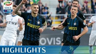 Inter - Atalanta - 7-1 - Highlights - Giornata 28 - Serie A TIM 2016/17 streaming
