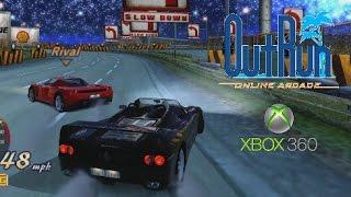 OutRun Online Arcade playthrough (Xbox 360)