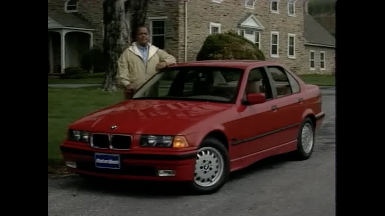 Motorweek Retro Review 96 Bmw E36 328i Sedan Youtube