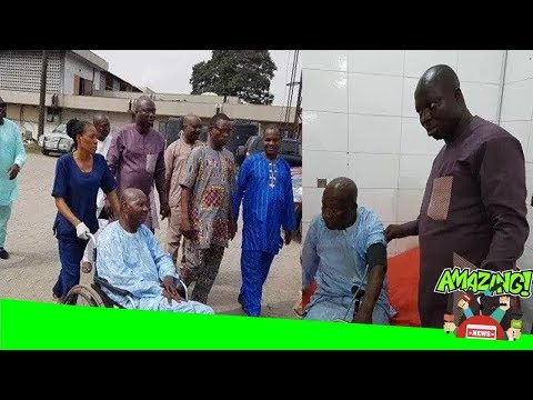 [HOT NEWS] Baba Suwe has been admitted at the Lagos University Teaching Hospital