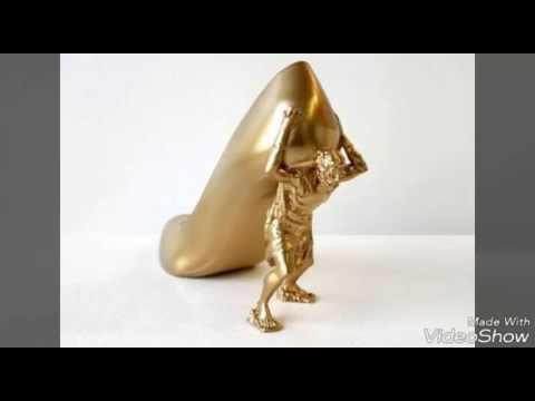 b859e4279 اغرب احذيه نسائية في العالم - YouTube