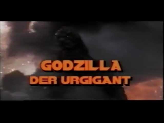 Godzilla - Der Urgigant (1989) german Trailer
