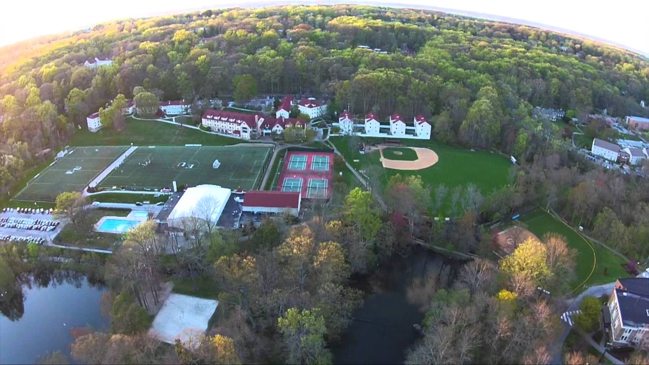 Eastern University Campus Eagle-Eye View (Drone Video ...