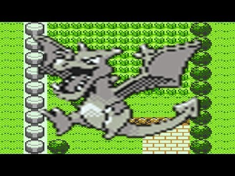 How to find Aerodactyl in Pokemon Crystal
