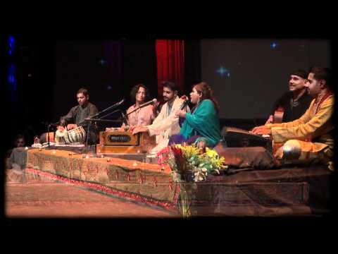 Me performing on my Taylor with my wife, Pakistani singer Riffat Sultana & group.