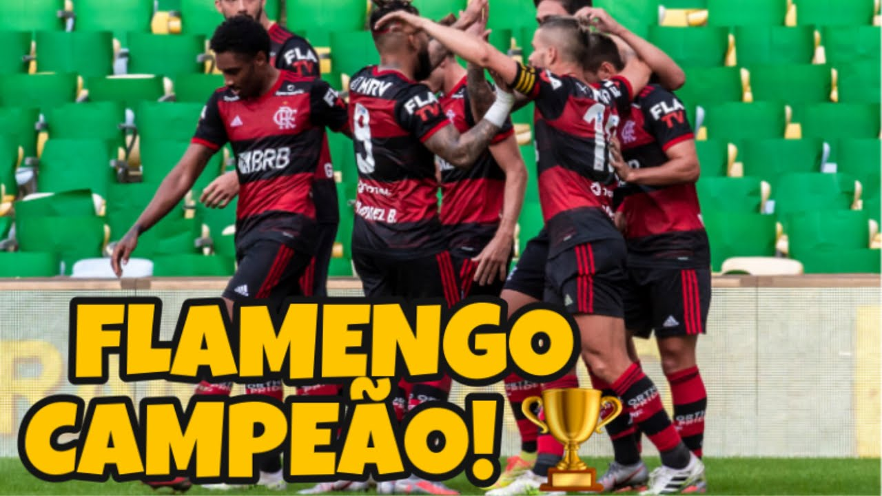 FLAMENGO 1 X 0 FLUMINENSE - FLAMENGO CAMPEÃO CARIOCA 2020 ...